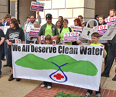 Ask your representative to cosponsor the Clean Water Protection Act to end mountaintop removal