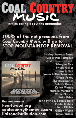 Coal Country Music CD web banner