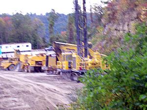 Coal River blasting has begun