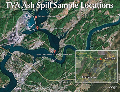 Coverage of the TVA Coal Ash Spill
