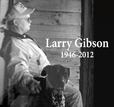 Larry Gibson at his cabin on his beloved Kayford Mountain